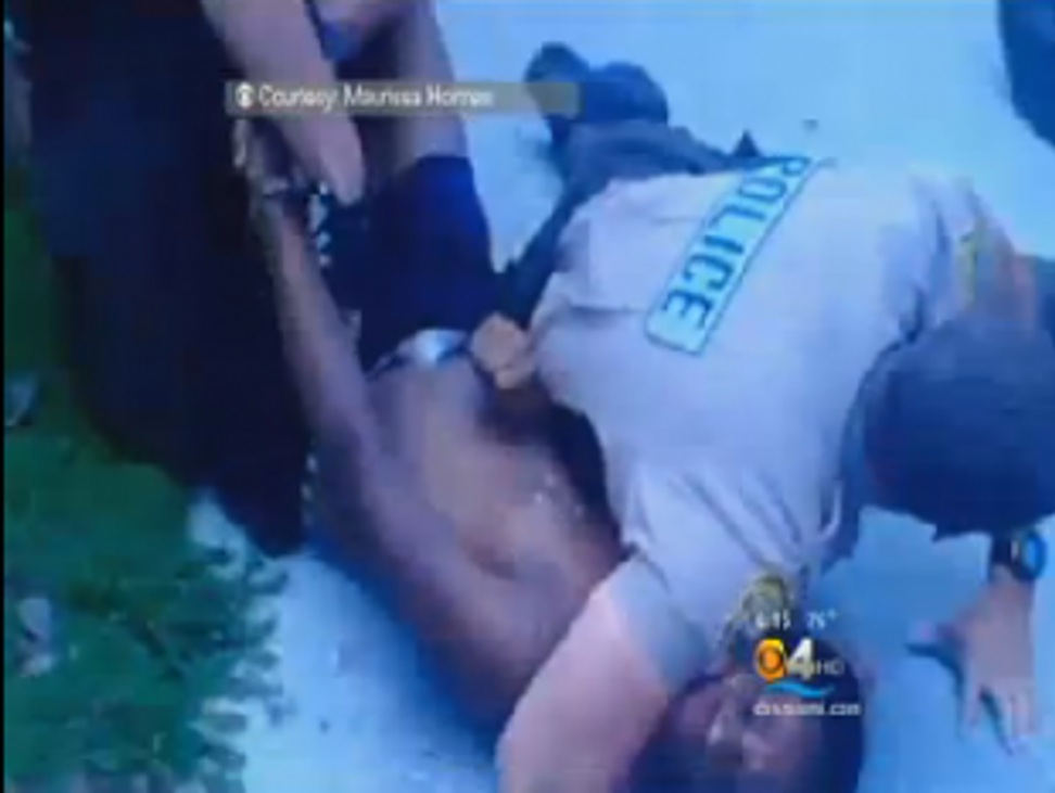 "Miami police choke and tackle black teen for ""dehumanizing stare"" | Salon.com"