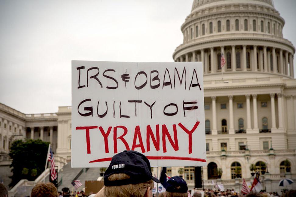 Tables turn on IRS scandal   Salon.com