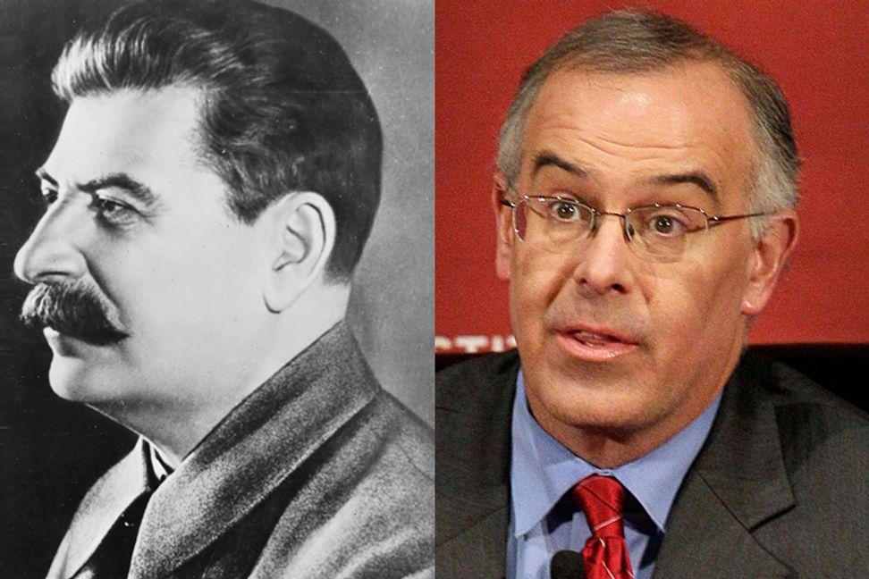 David Brooks: The last Stalinist