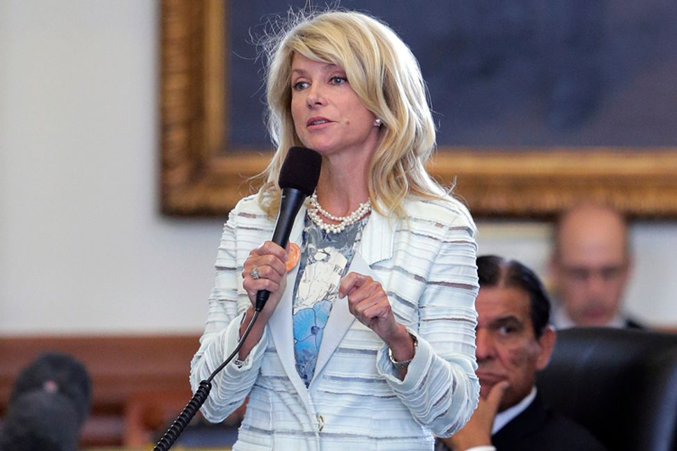 Texas Republicans want Wendy Davis to foot the bill for special sessions