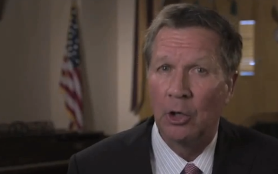 Ohio governor signs budget laced with antiabortion provisions