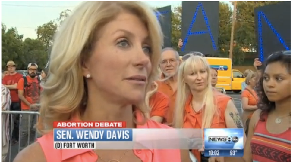Wendy Davis: Abortion bill will pass, but the fight for reproductive rights isn't over