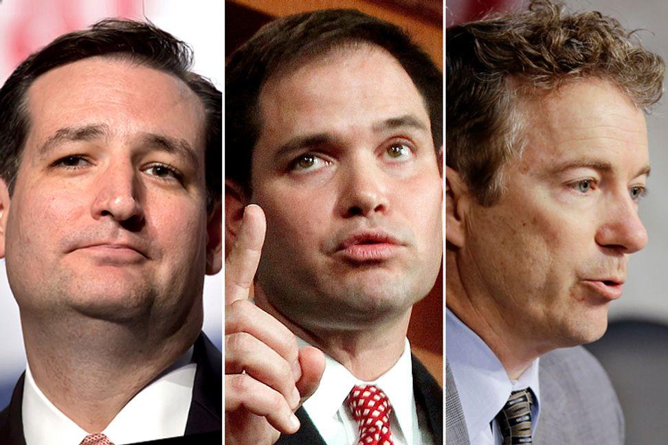 Why Cruz, Paul and Rubio dominate the Senate