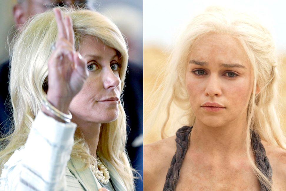 Stop comparing Wendy Davis to the Khaleesi! | Salon.com