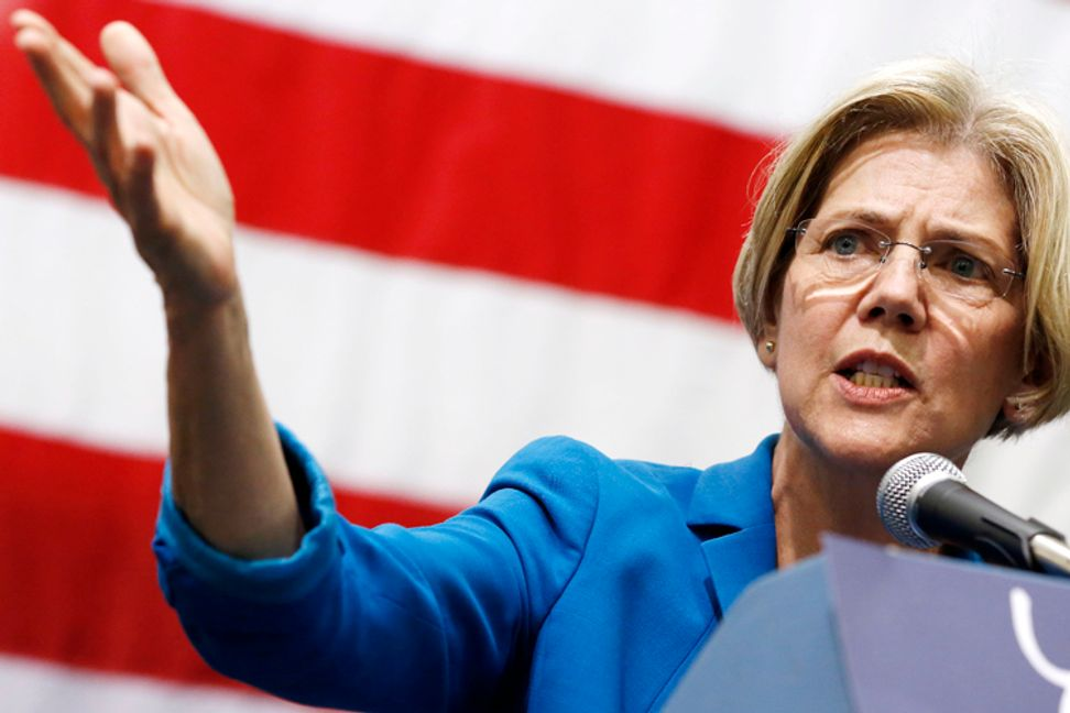 "Elizabeth Warren slams House GOP's ""anarchy gang"""