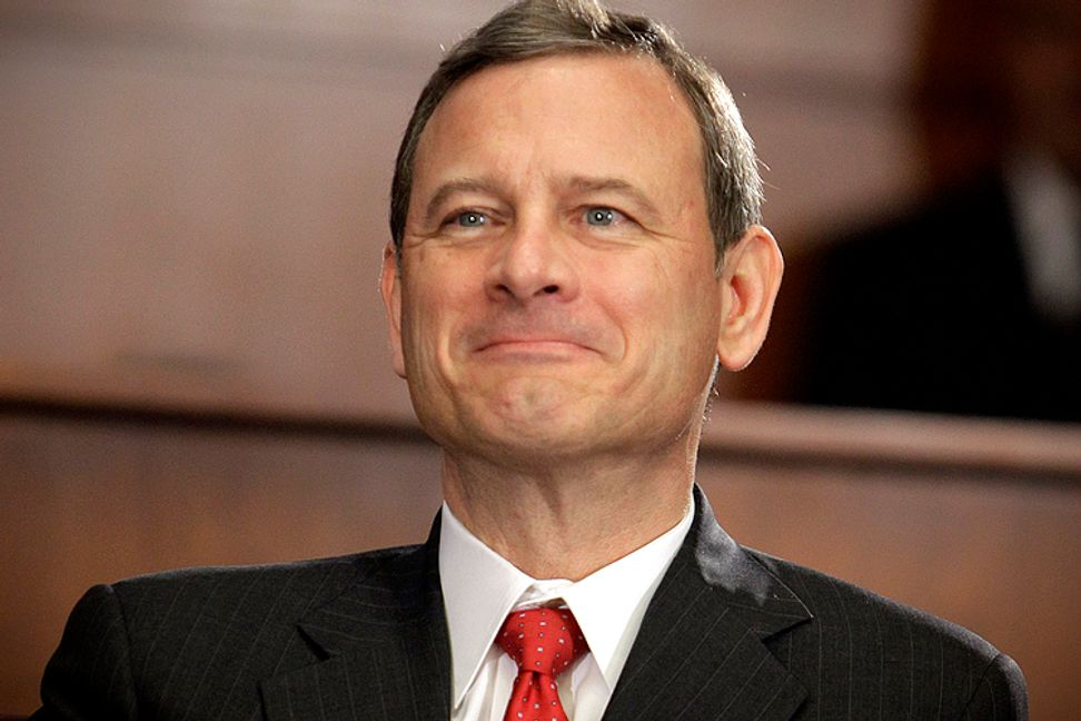 The Obama administration is playing politics with John Roberts, and it's about time