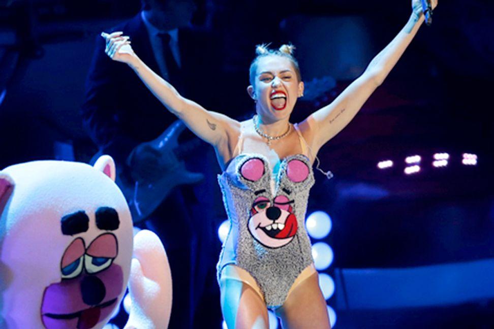 Miley, Macklemore and the fake-sex-positive VMAs