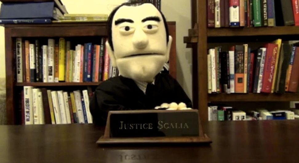 "Puppet Scalia says ""argle-bargle"" in awesome video"