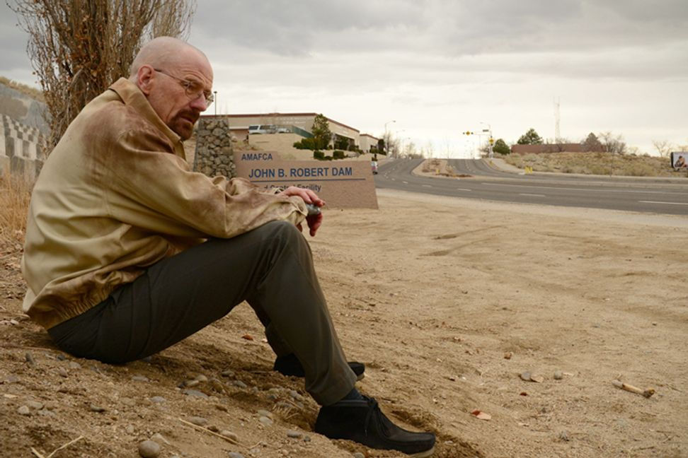 """""""Breaking Bad"""" cast drops hints about finale at the Emmys"""