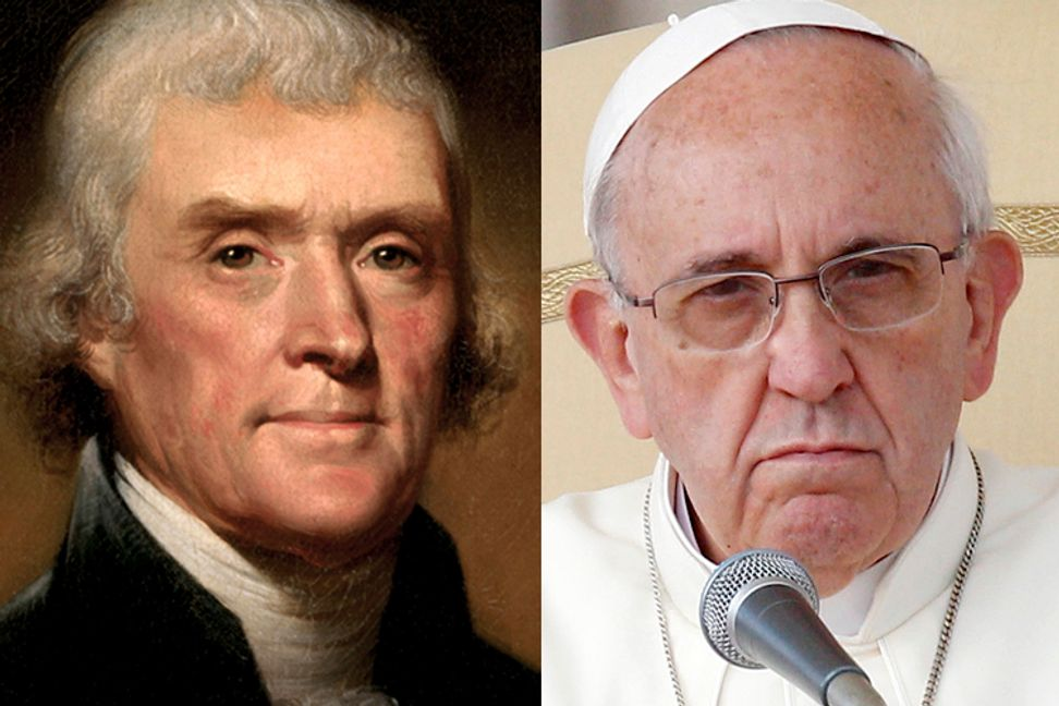 Why Jefferson would like Pope Francis (but not Ted Cruz) | Salon.com