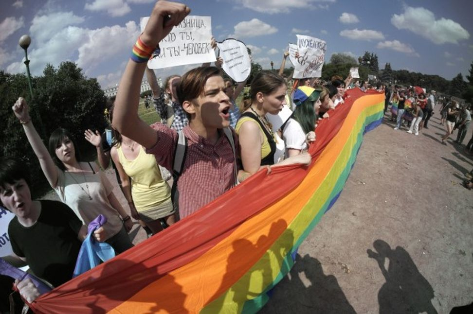 Russian lawmaker proposes bill to strip gay parents of custody rights