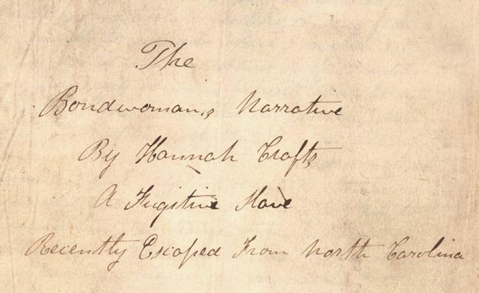 Professor uncovers slave novelist's secret identity