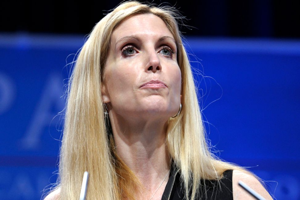 "Ann Coulter: ""No American whose great-grandfather was born here is watching soccer"""