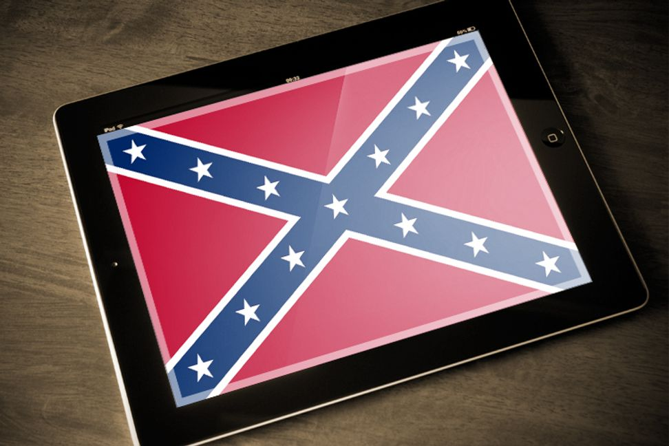 The right's Confederate flag conspiracy theories