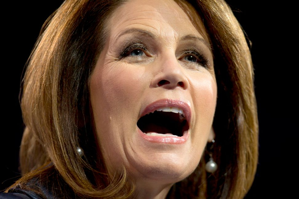 "Michele Bachmann: American Jews ""sold out Israel"" by supporting Obama"