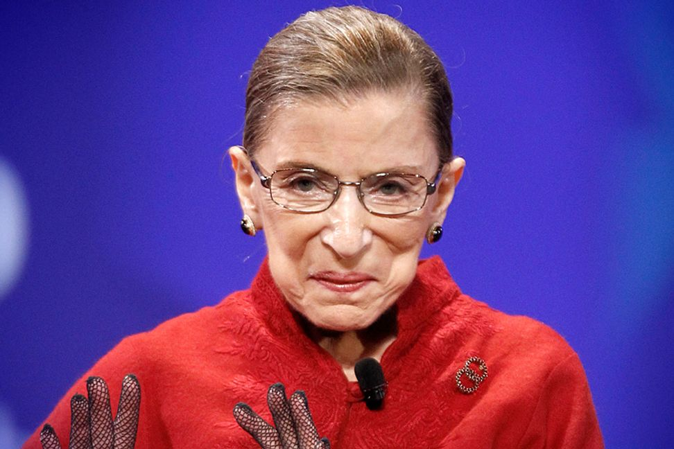Justice Ginsburg predicts the 2016 presidential election