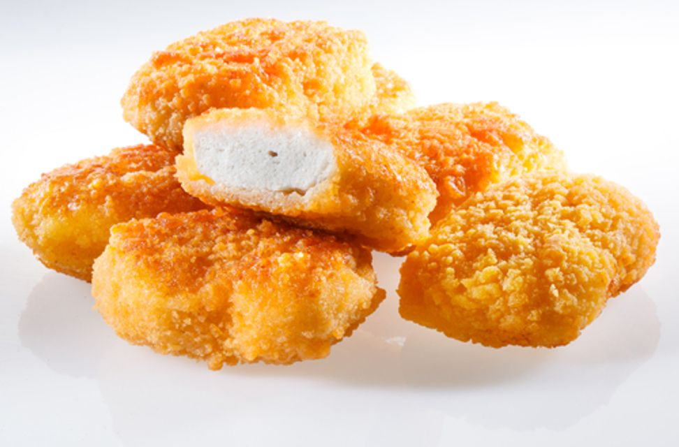 """Study: Less than 50 percent of a chicken nugget is actually """"chicken"""""""