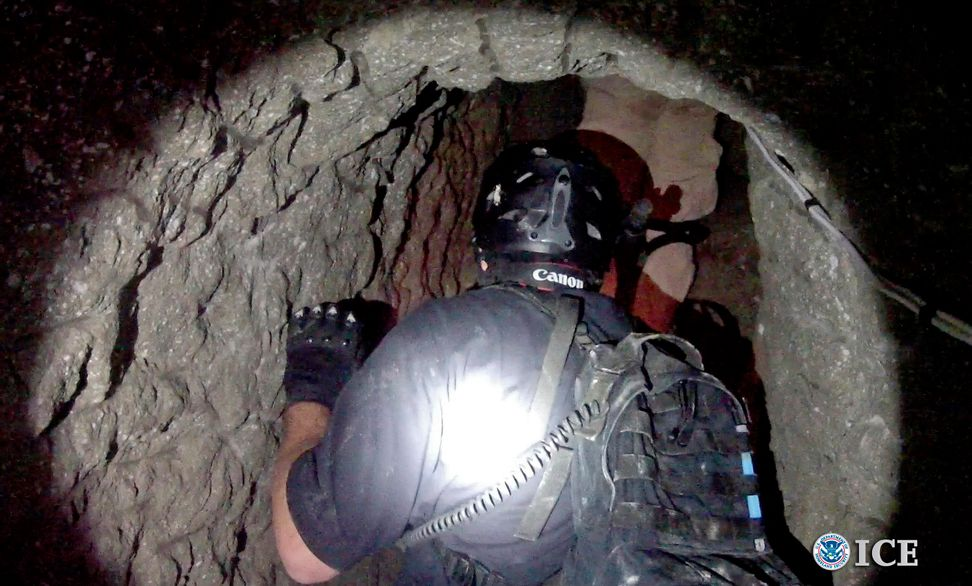 """Sophisticated"" drug tunnel discovered between U.S. and Mexico"