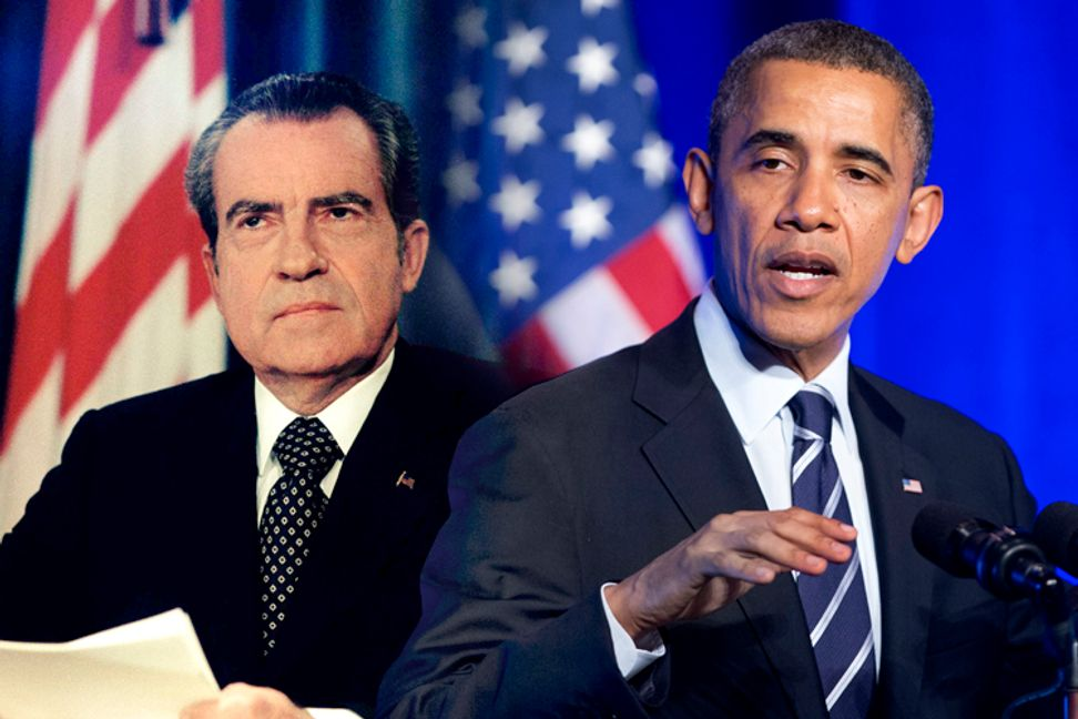 Can we trade Obama for Nixon? | Salon.com
