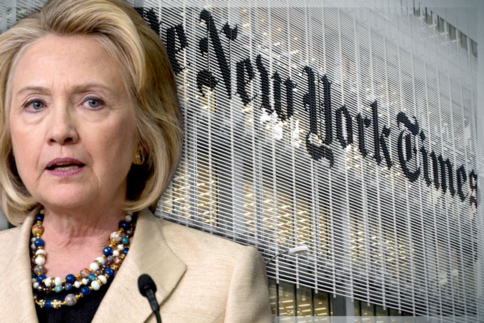 New York Times' blind spot on Clinton and race