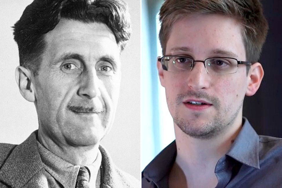 "Orwell & Ed: Snowden saga shows the one thing ""1984"" missed"