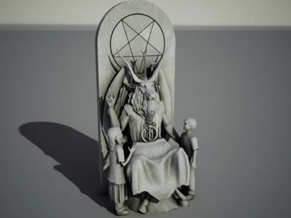 Satanic goat statue gets support from an unlikely place