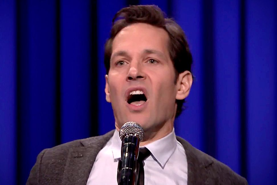 Paul Rudd lip-syncing to Queen is so good that even Jimmy Fallon can't compete
