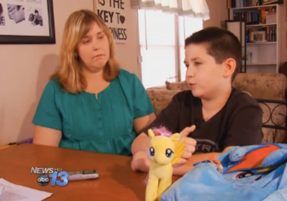 """North Carolina school bans boy's """"My Little Pony"""" lunch bag rather than confront its bullying problem"""