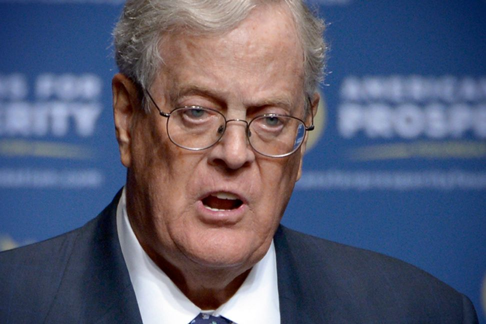 The Koch brothers are going after solar panels