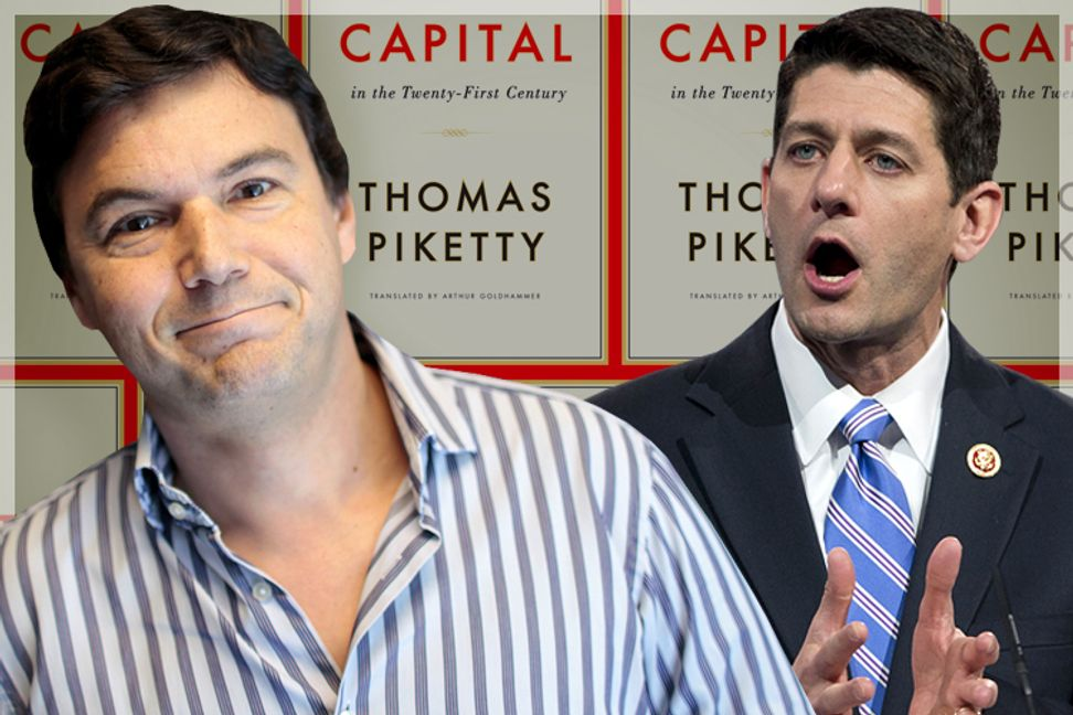 Thomas Piketty terrifies Paul Ryan: Behind the right's desperate, laughable need to destroy an economist | Salon.com