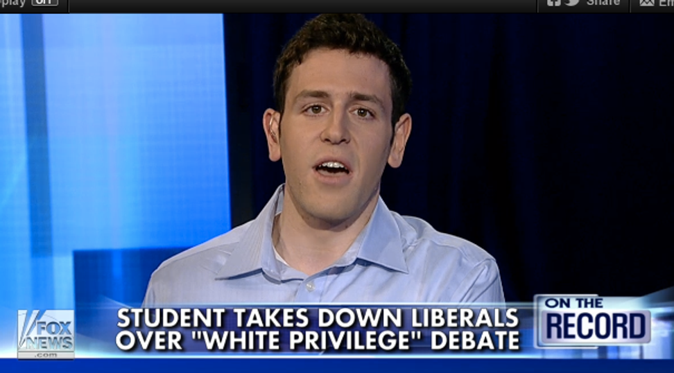 """I'll never apologize for my white privilege"" guy is basically most of white America"