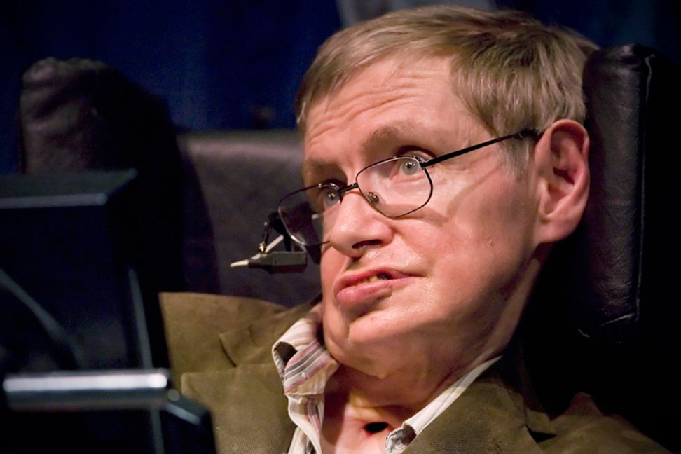 Stephen Hawking stresses the importance of space travel and understanding science