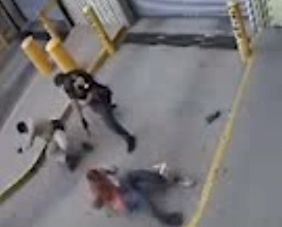 Handcuffed man shot by police officers -- video now available