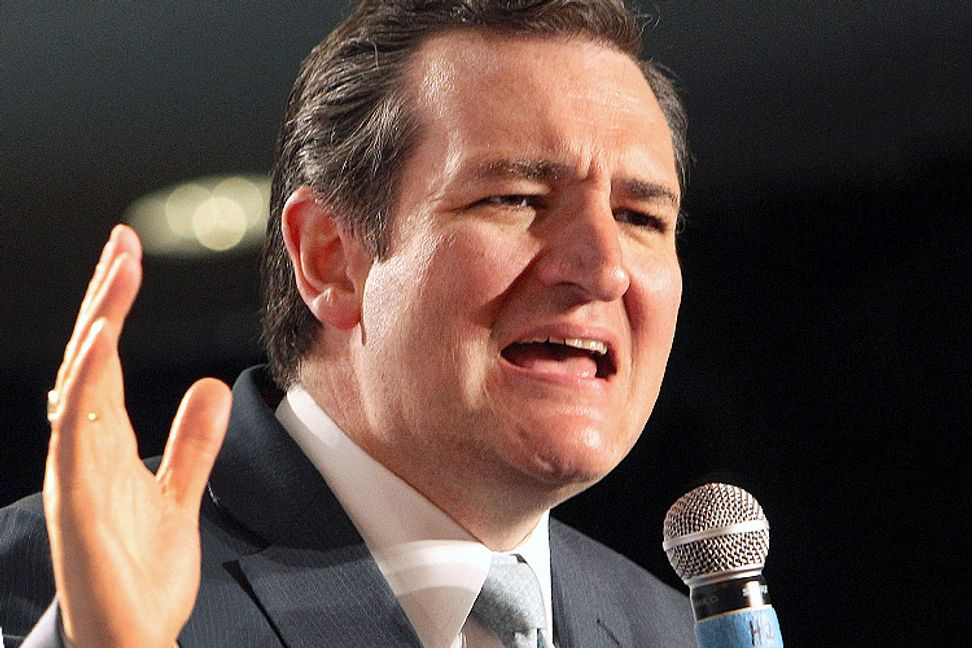 "Ted Cruz goes ballistic over ""radical"" idea that gay people should enjoy equality"