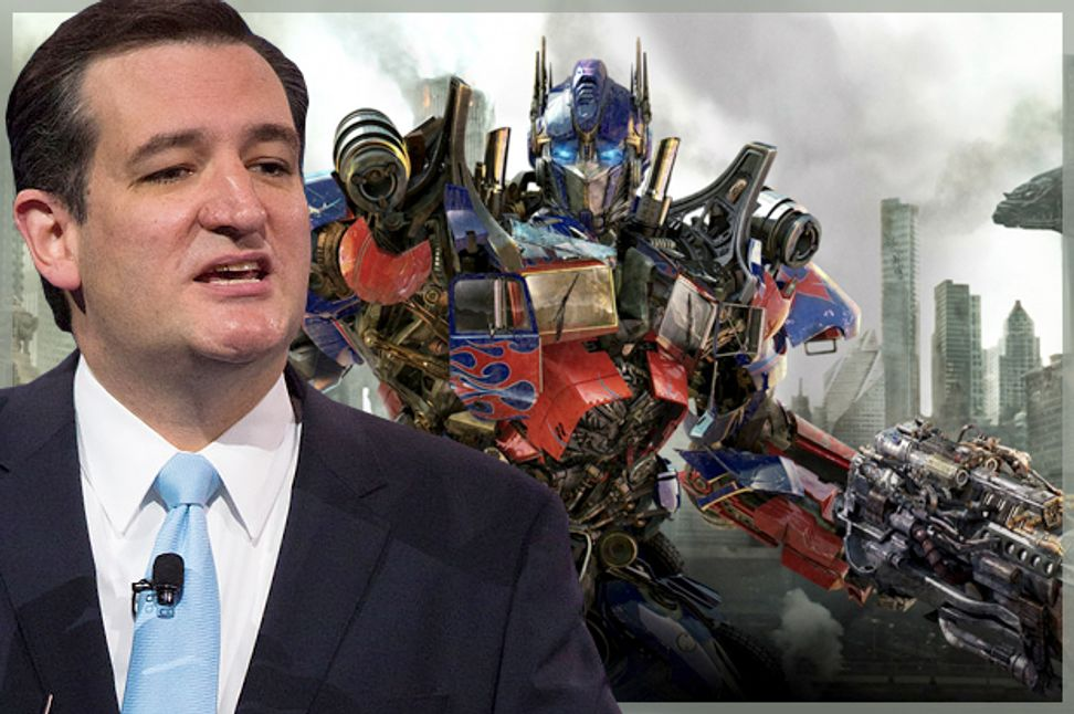 """Transformers"": Robot warriors of the Tea Party attack"