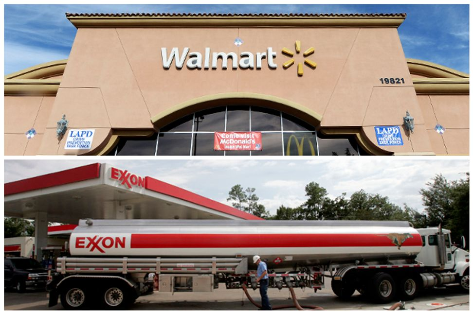 Wal-Mart and Exxon have this in common: Big checks, famed nonprofits and corporate greenwashing | Salon.com