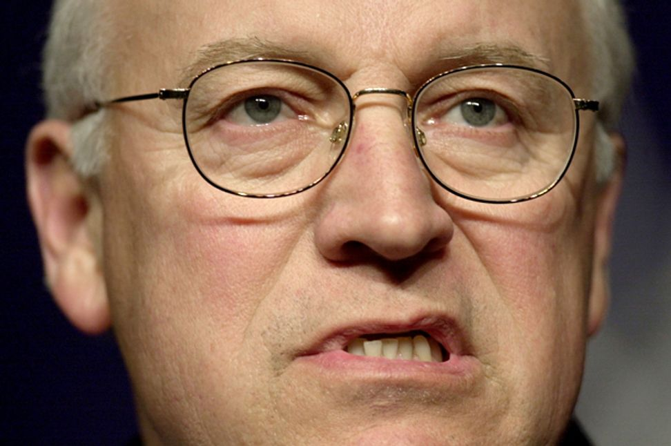 Dick Cheney descends further into self-parody, hints Iran deal will trigger nuclear war