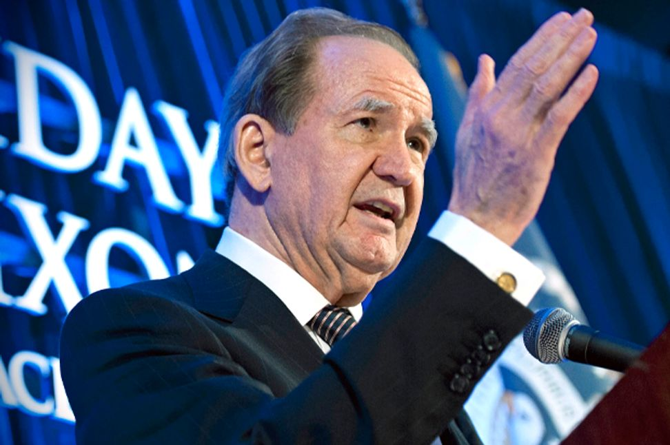 Pat Buchanan is bullish on The Donald: Right-wing pundit predicts Trump will go the distance