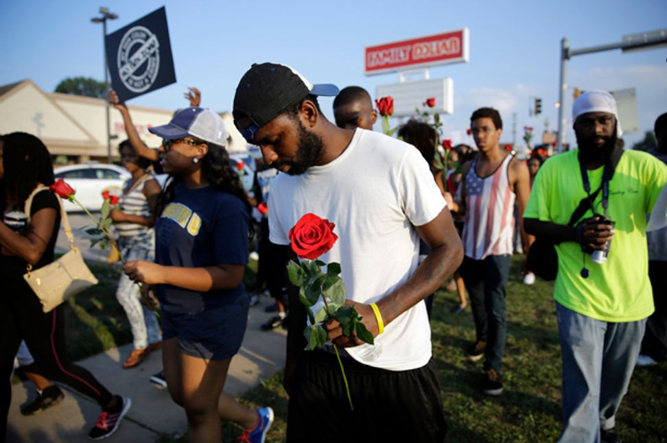 Ferguson's absurd dilemma: What if being peaceful won't change a thing?