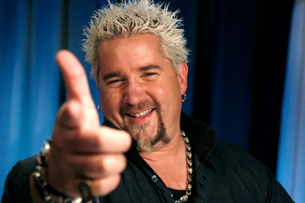 How one man destroyed the Food Network: Guy Fieri has made culinary TV into a viewer's hell