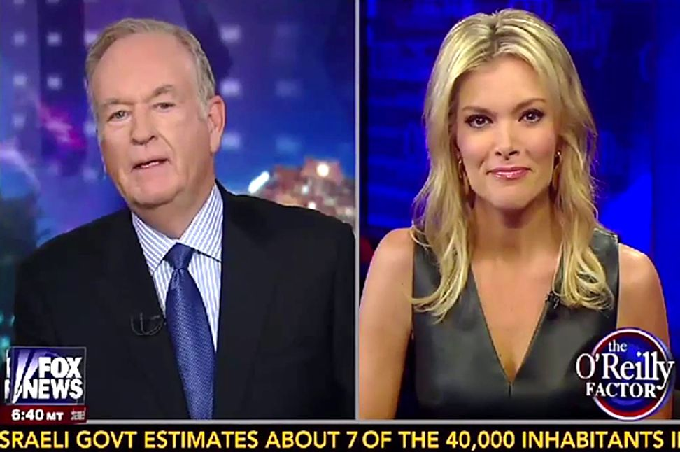Bill O'Reilly gets schooled on white privilege by Megyn Kelly