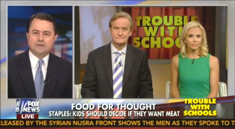 "Texas GOP official's shady war on ""Meatless Mondays"""