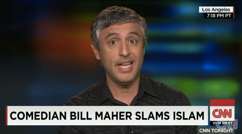 """Reza Aslan takes down Bill Maher's """"facile arguments"""" on Islam in just 5 minutes"""