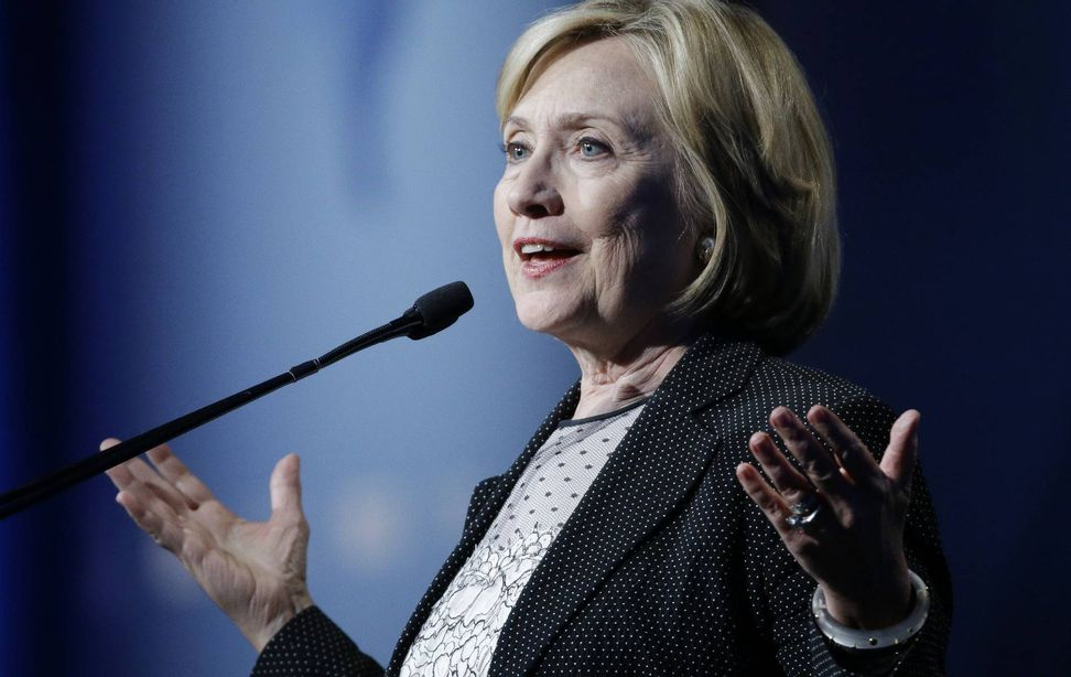 Hillary Clinton bashes climate change deniers