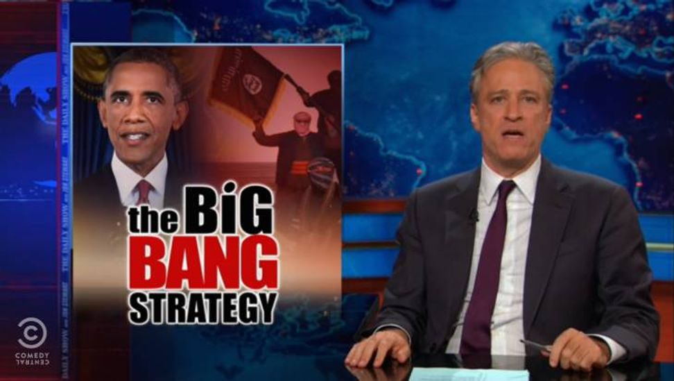 Must-see morning clip: Jon Stewart takes down Obama's ISIS speech