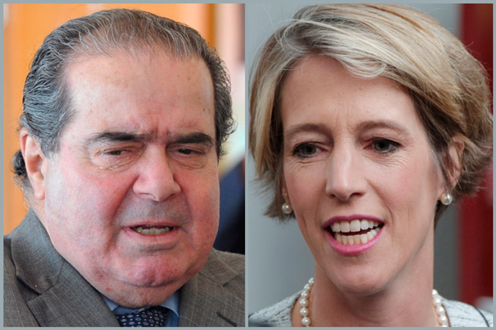 Antonin Scalia's bad law, bad history: How the Supreme Court legalized corruption | Salon.com