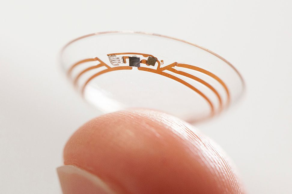 Need to check your blood sugar? Just scan your contact lens