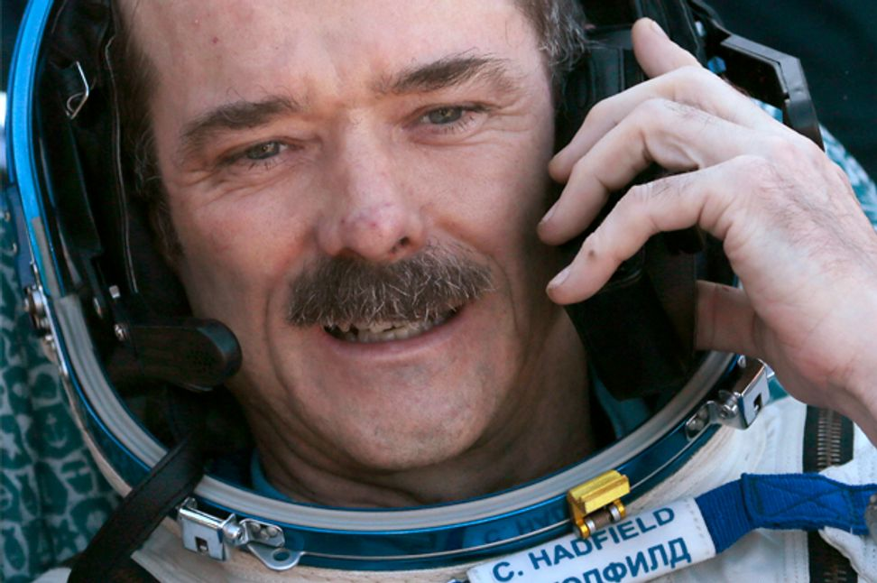 "Celebrated astronaut Chris Hadfield: Curiosity is ""the core of everything"" 
