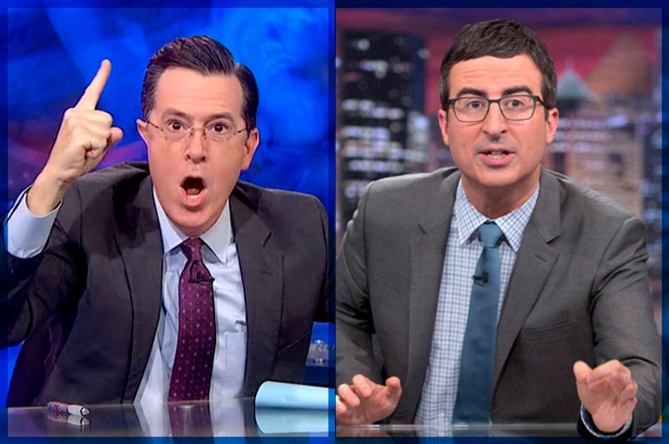 Stewart, Colbert and Oliver for the win: Satire, millennials and fear of an extreme right-wing Senate | Salon.com