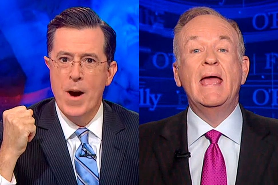 Stewart, Colbert save the day: Bill O'Reilly and Fox News' ISIS insanity makes them more essential than ever | Salon.com